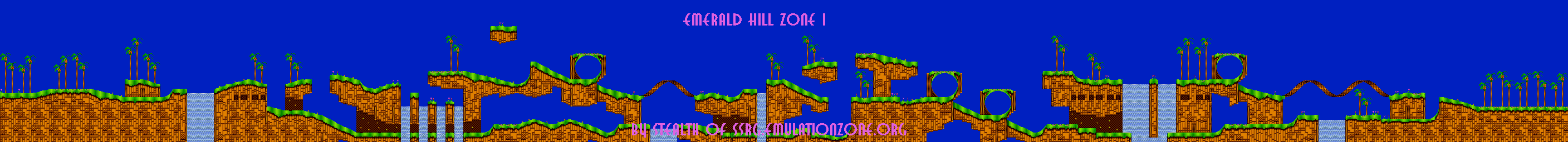 Level Maps For Sonic 2 3 K Things Of Interest