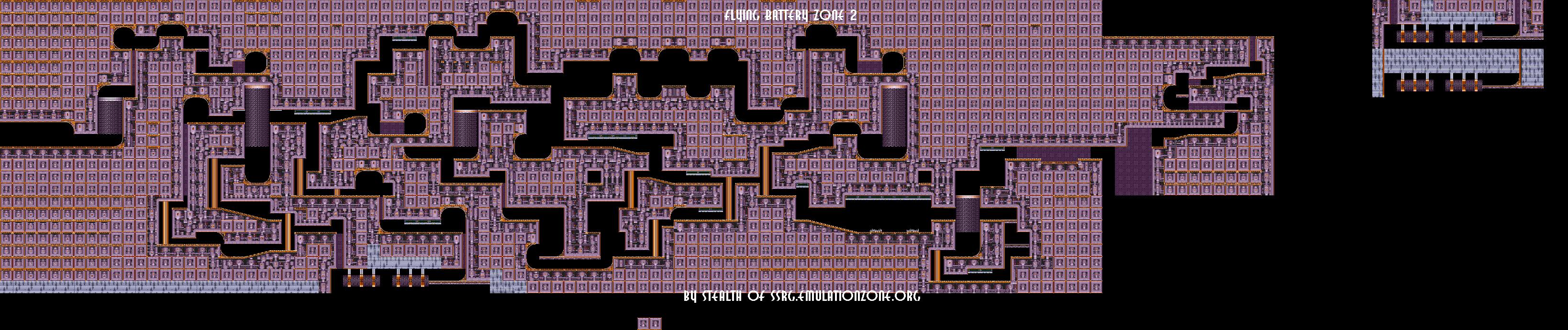 Level Maps For Sonic 2 3 Amp K Things Of Interest