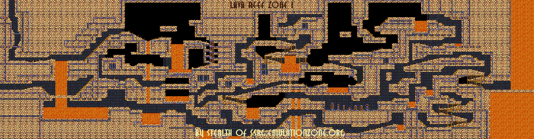 Level Maps For Sonic 2 3 Amp K Things Of Interest
